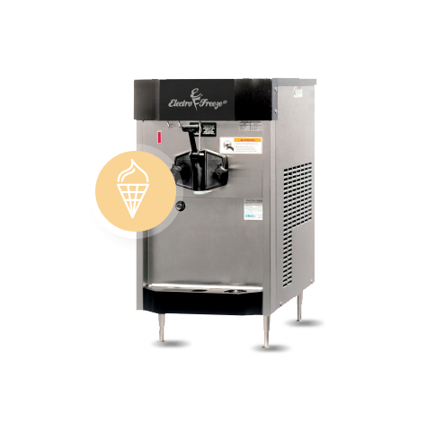 CS4 commercial ice cream machine
